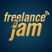 freelance jam podcast art