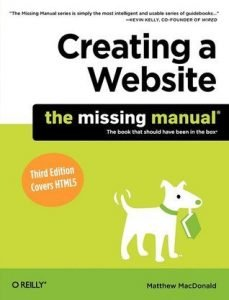 Review: Creating a Website: the Missing Manual by Matthew MacDonald