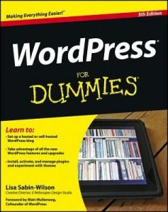 WordPress for Dummies 5th Edition