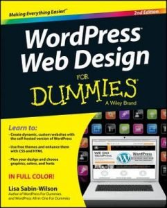 WordPress Web Design for Dummies 2nd edition