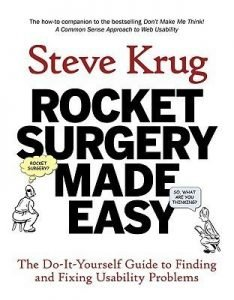Rocket Surgery Made Easy cover