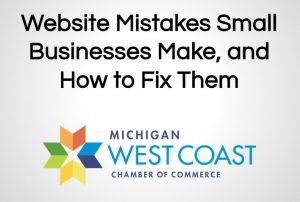 Business Website Mistakes: Chamber Tech Lunch, Jan 2015