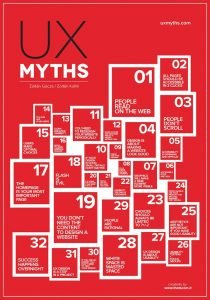 UX Myths poster