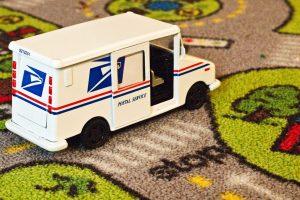 postal service truck