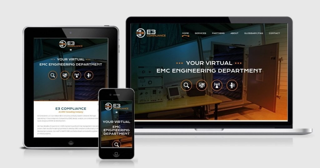 responsive WordPress site by OptimWise
