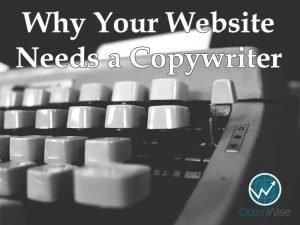 Website Needs Copywriter