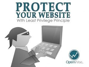 Protect Your Website with the Least Privilege Principle