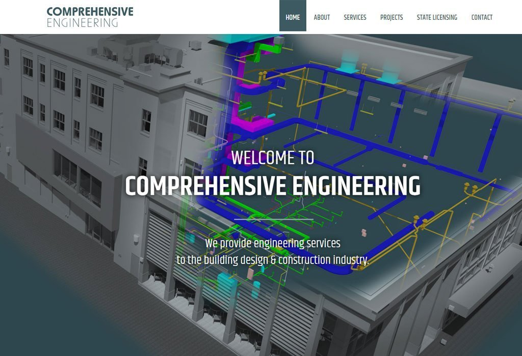 Comprehensive Engineering homepage