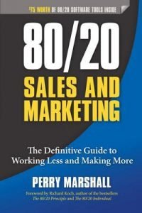 80/20 Sales and Marketing book Perry Marshall