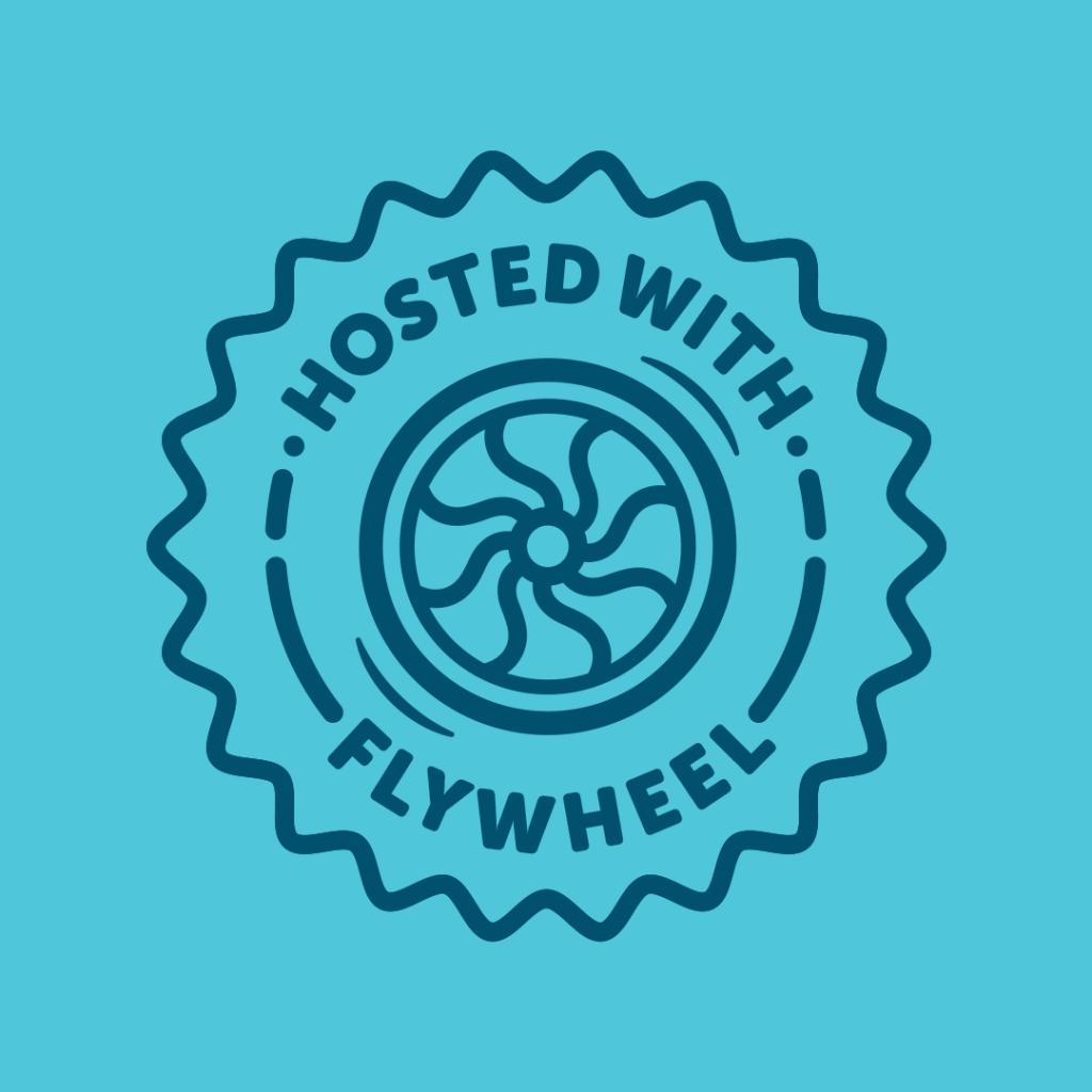 Flywheel managed WordPress hosting logo