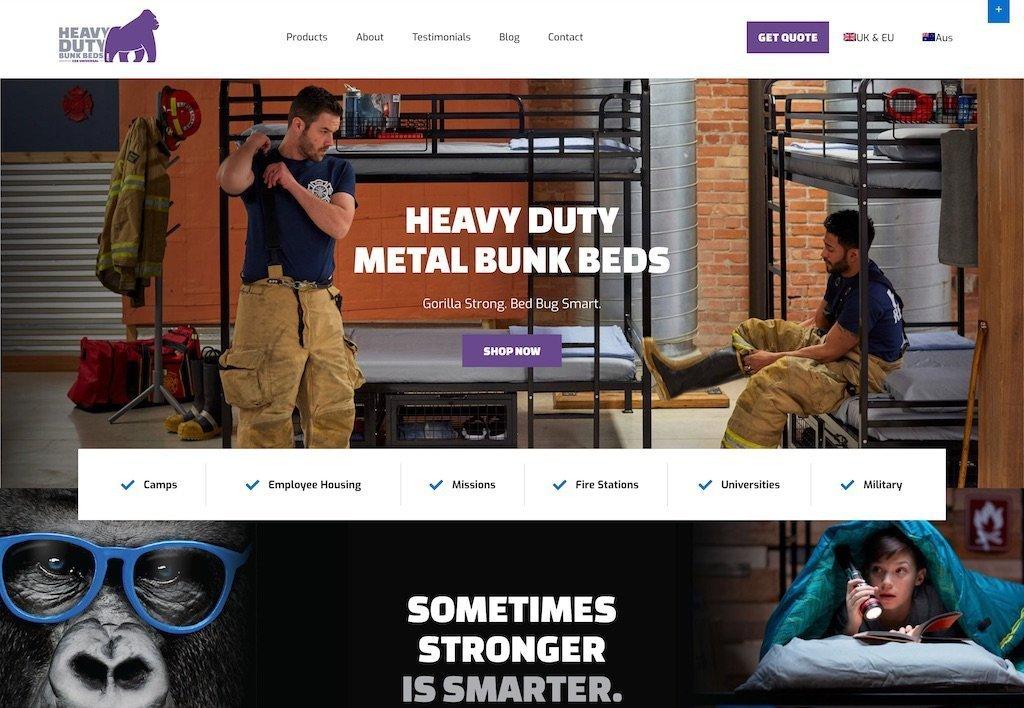 ESS Universal homepage